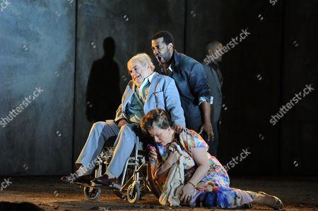 'The Death of Klinghoffer' - Alan Opie as Leon Klinghoffer, Sidney Outlaw as Rambo and Michaela Martens as Marilyn Klinghoffer