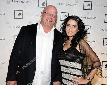Rick Harrison and fiancee Deanna Burditt
