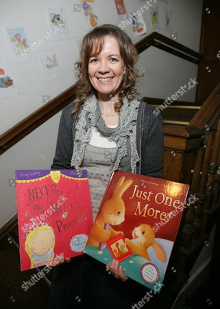 Editorial photo of Tracey Corderoy promoting her book 'Just One More', Oxford, Britain - 25 Feb 2012