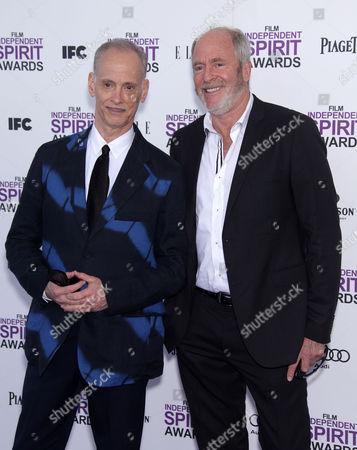 John Waters and Greg Gorman