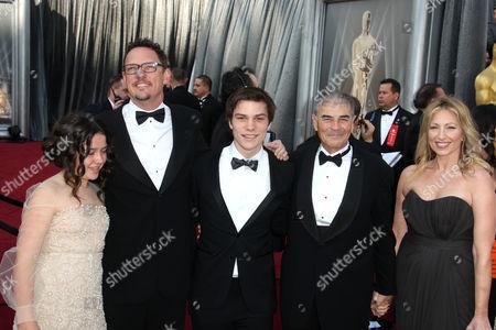 Amara Miller, Matthew Lillard, Nick Krause and Robert Forster