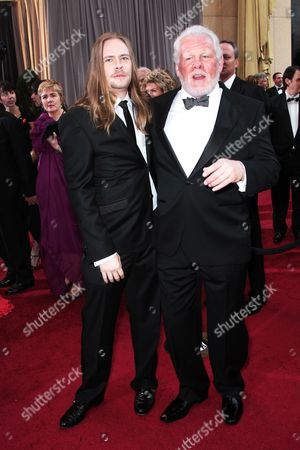 Stock Image of Brawley Nolte and Nick Nolte