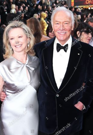 Christopher Plummer and wife Elaine Taylor