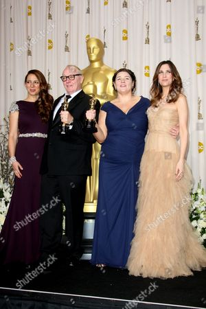 Maya Rudolph, Terry George, Oorlagh George and and Kristen Wiig