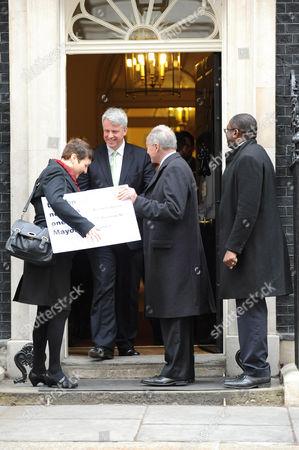 Health Secretary, Andrew Lansley, Ken Livingstone, London Assembley Member, Val Shawcross and David Lammy MP