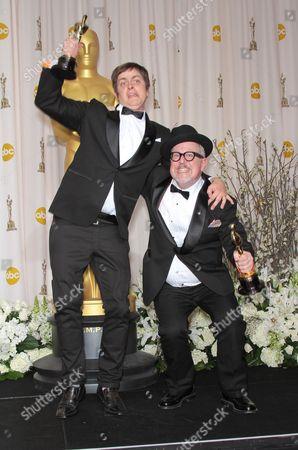 Stock Image of Brandon Oldenburg and William Joyce