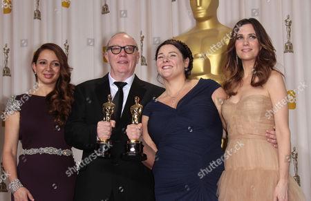 Stock Image of Maya Rudolph, Terry George, Oorlagh George and Kristen Wiig