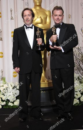 Editorial photo of 84th Annual Academy Awards, Press Room, Los Angeles, America - 26 Feb 2012