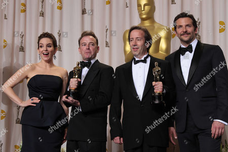 Editorial image of 84th Annual Academy Awards, Press Room, Los Angeles, America - 26 Feb 2012