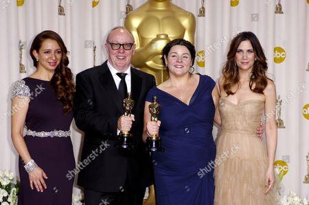 Maya Rudolph, Oorlagh George, Terry George and Kristen Wiig