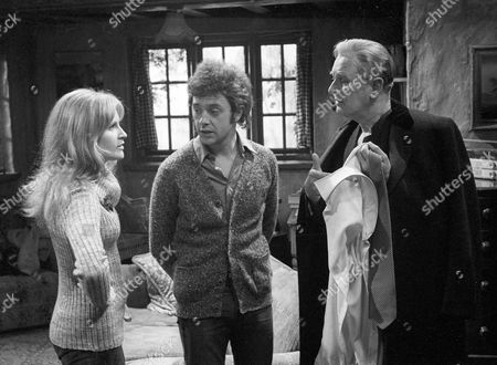 Michele Dotrice as Frances, Michael Kitchen as Tommy and Nigel Patrick as Charles