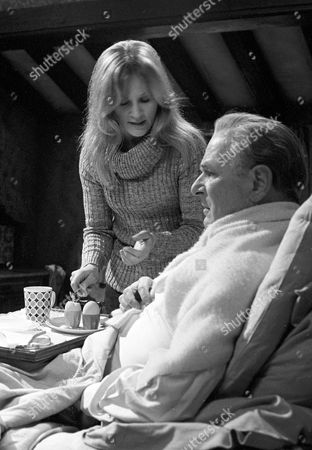 Stock Photo of Michele Dotrice as Frances and Nigel Patrick as Charles