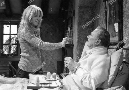 Michele Dotrice as Frances and Nigel Patrick as Charles