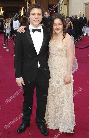 Amara Miller and Nick Krause