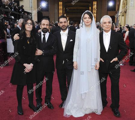 Asghar Farhadi, Peyman Moadi, Leila Hatami, Mahmoud Kalari, Sari