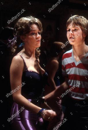 Tara Ward as Clara and Matthew Taylor as Chris