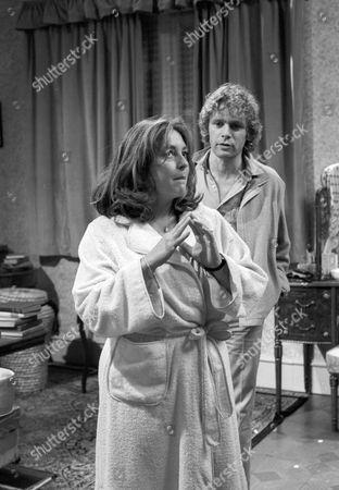 Judy Cornwell as April and Paul Nicholas as Sam