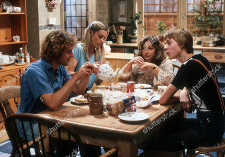 Paul Nicholas as Sam, Amanda Wissler as Rosemary, Judy Cornwell as April and Matthew Taylor as Chris