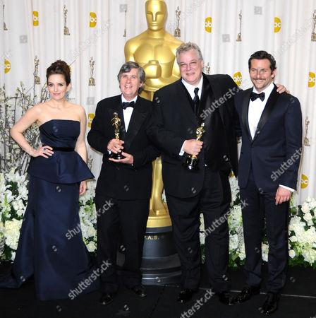 Tina Fey, Tom Fleischman, John Midgley, Bradley Cooper