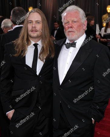 Brawley Nolte and Nick Nolte