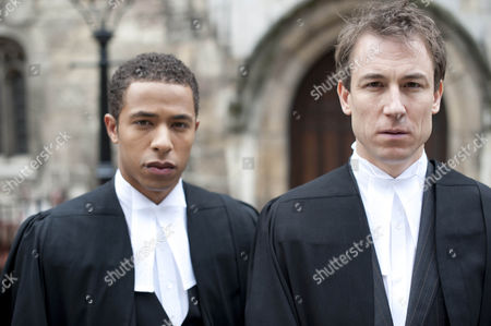 Ukweli Roach as Tom Greening and Tobias Menzies as Richard Pambroke.