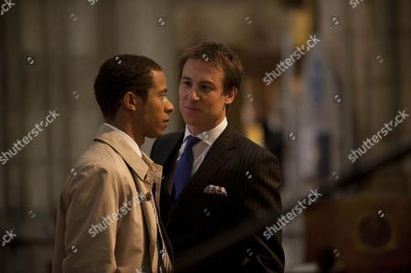 Ukweli Roach as Tom Greening and Tobias Menzies as Richard Pembroke.