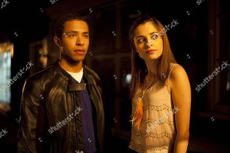 Ukweli Roach as Tom Greening and Stephanie Leonidas as Jude.