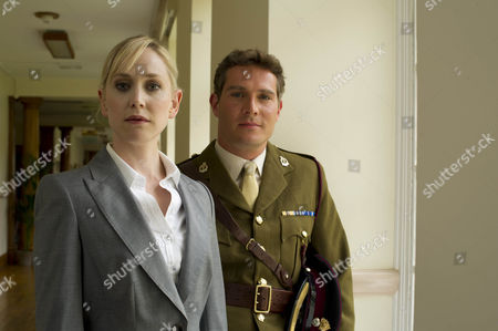Stock Photo of Hattie Morahan as Hannah and Mark Umber as Major Sir John Parker.