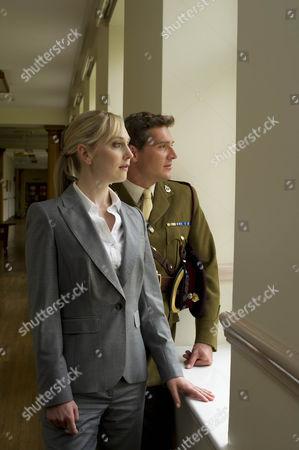 Hattie Morahan as Hannah and Mark Umber as Major Sir John Parker.