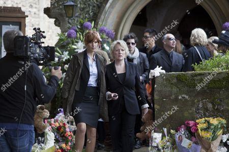 Editorial photo of 'Above Suspicion - Silent Scream' TV Programme - 2012