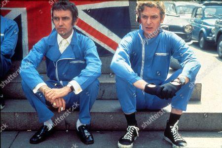 The Italian Job,  Tony Beckley,  Michael Caine