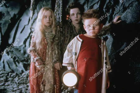 Stock Picture of The Little Vampire,  Anna Popplewell,  Rollo Weeks,  Jonathan Lipnicki