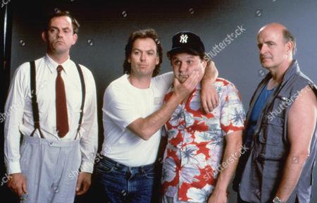 The Dream Team,  Christopher Lloyd,  Michael Keaton,  Stephen Furst,  Peter Boyle