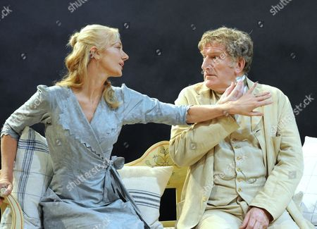 Stock Photo of Joely Richardson and Malcolm Storry