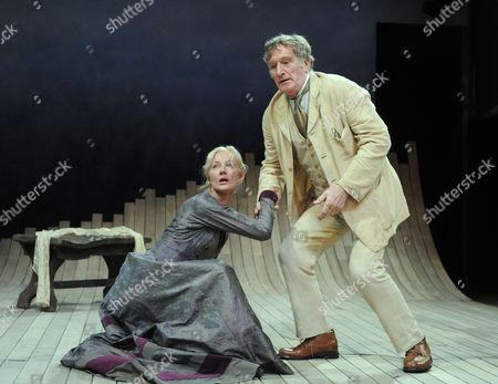 Editorial photo of 'The Lady From the Sea' play, The Rose Theatre, Kingston, Britain - 27 Feb 2012