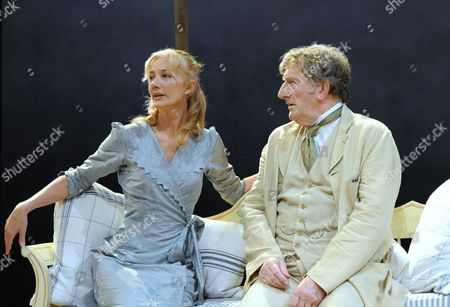 Stock Image of Joely Richardson and Malcolm Storry