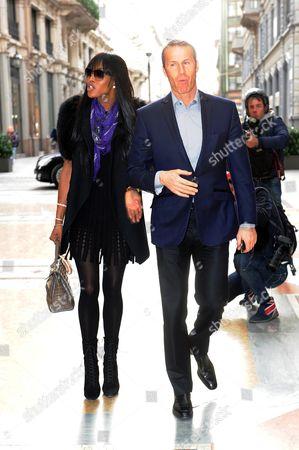 Naomi Campbell and Vladislav Doronin