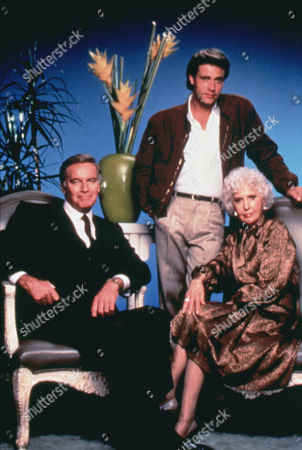 The Colbys ,  Charlton Heston,  Barbara Stanwyck