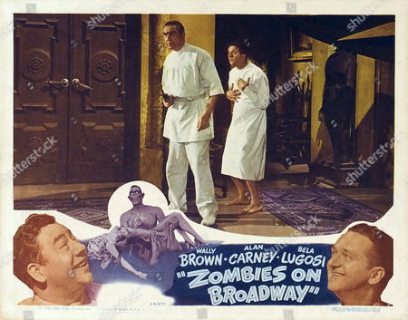 Stock Photo of Zombies On Broadway,  Wally Brown,  Alan Carney,  Bela Lugosi