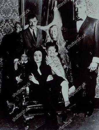 The Addams Family ,  Jackie Coogan,  John Astin,  Marie Blake,  Ted Cassidy,  Lisa Loring,  Carolyn Jones,  Ken Weatherwax