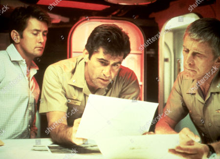 The Final Countdown,  Martin Sheen,  James Farentino,  Kirk Douglas