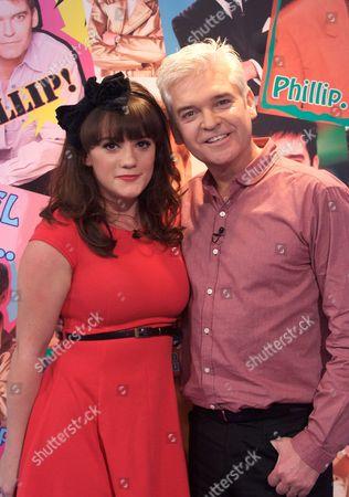 Vikki Stone with Phillip Schofield