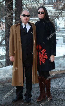 Stock Photo of Carl Eduard Graf von Bismarck and Nathalie von Bismarck