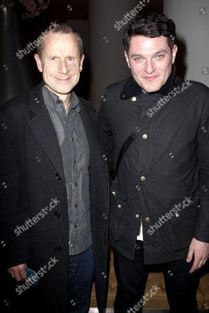 Jeremy Hardy and Mathew Horne