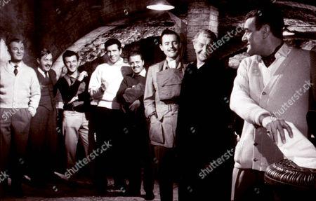 The League Of Gentlemen,  Nigel Patrick,  Bryan Forbes,  Richard Attenborough,  Terence Alexander,  Roger Livesay,  Jack Hawkins