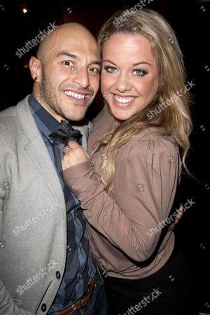 Stock Photo of Ivan de Freitas and Charlotte Riby