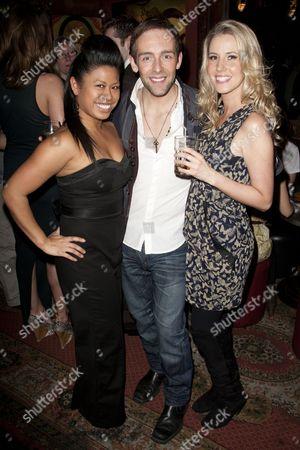 Rachel Picar, Darren Carnall and Katie Marson