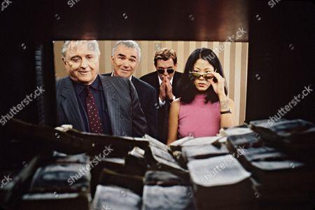 The Hollywood Sign,  Rod Steiger,  Burt Reynolds,  Tom Berenger,  Jacqueline Kim