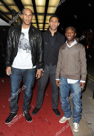 Fitz Hall, Anton Ferdinand and Shaun Wright-Phillips