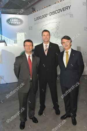 Alan Volkaerts, Phil Popham and Dr Ralph Speth